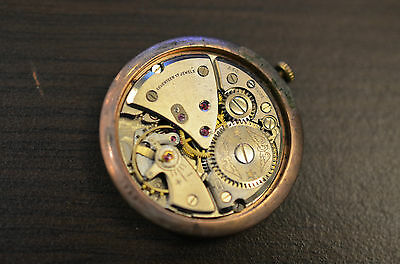 Watch movement FEF 72 pour pièces / for parts - RUNS - works ! IAXA