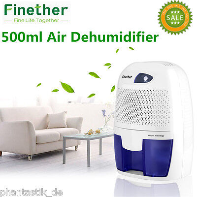 500ml Electric Dehumidifier Mini Air Dryer Home Mould Drying Moisture Absorber