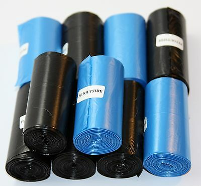 1012 DOG WASTE POOP BAGS 44 REFILL NO-CORE BIODEGRADABLE ROLLS by PetOutSide USA