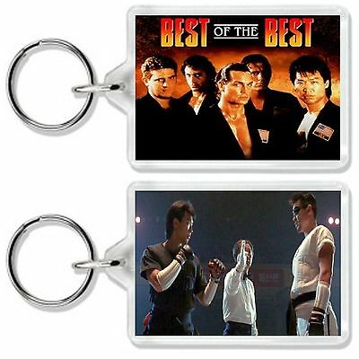 Best Of The Best Eric Roberts' Phillip Rhee Classic Dvd Movie Keyring