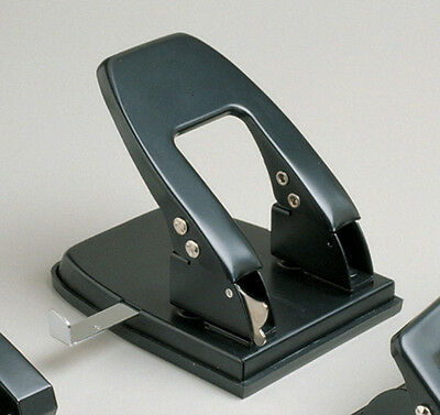 Sovereign 2 Hole Heavy Duty Desktop Punch 7mm Holes Paper Guide