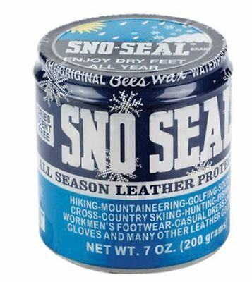 Sno-Seal Waterproofing Bees Wax - Original Snow Seal 7oz Paste - NEW