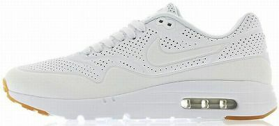 NIKE AIR MAX 1 ULTRA MOIRE Triple White 3M running training sneakers new