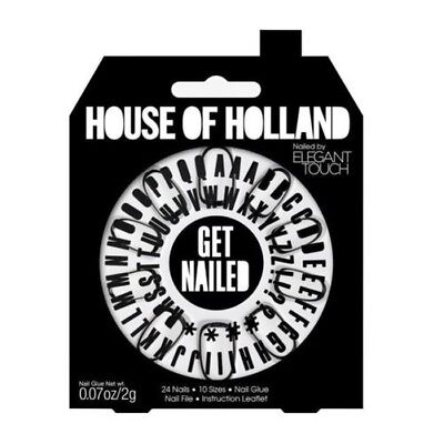 House of Holland faux ongles - Get Cloué personnalisable ongles (24 ongles)