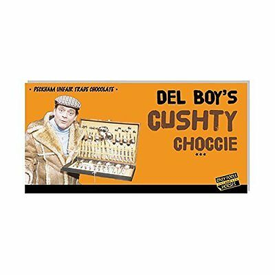 Only Fools and Horses Del Boy's Cushty Chocolate Bar OFAH