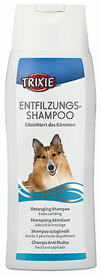 Detangling Dog Shampoo Eases Combing in Long Haired Dogs 250ml