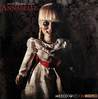 The Conjuring Annabelle Prop Rep Doll - Annabelle - Horror - Mezco Toys 46 Cm
