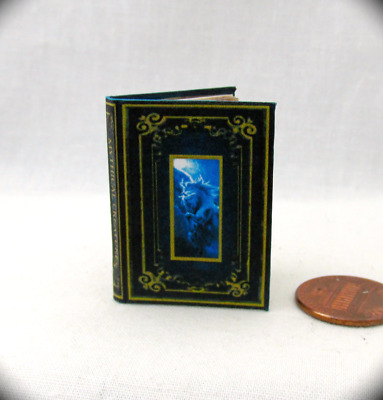 MYTHICAL CREATURES 1:6 Scale Book Illustrated Readable Miniature Book Dragons