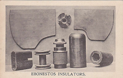Ebonestos Insulators Railway Gpo Telegraph Vintage Telegraphy  Post Office Po Pc