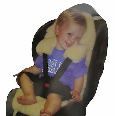 New Sheepskin Genuine Australian Rug Car seat Liner and baby Pram Stroller