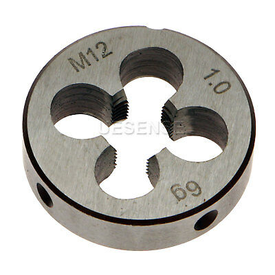 New 12mm 12 x 1.0 Metric Right Hand Thread Die M12 x 1.0mm Pitch