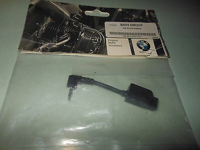NEW OEM BMW Aux Audio Cable Cell Phone Adapter # 99 99 0 000 204 # 99990000204