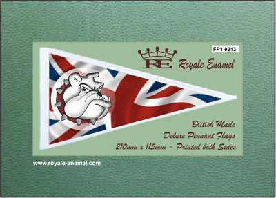 Royale Antenna Pennant Flag - BRITISH BULLDOG UNION JACK - FP1.0213