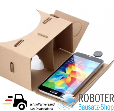 DIY Cardboard 3D VR Virtual Reality Brille für Google/Android/iPhone