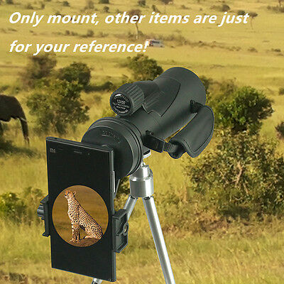 Spotting Scope Astronomical Telescope Universal Stand Mount f Cell Phone iPhone