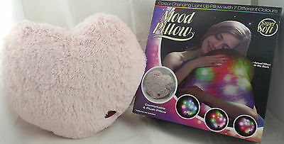 Light Up Sensory Heart Cushion / Mood Pillow Ideal Autism / Adhd / Special Needs
