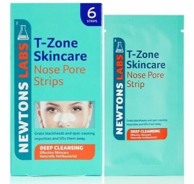 3 x T-Zone 6 Clear Out Nose Pore Strips Deep Cleansing Blackheads Spots
