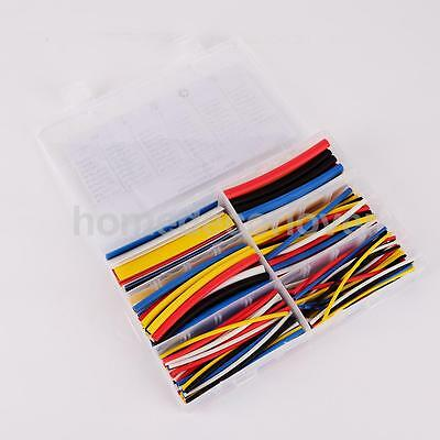180x Assorted 2:1 Heat Shrink Tube Wire Wrap Electrical Insulation Sleeving