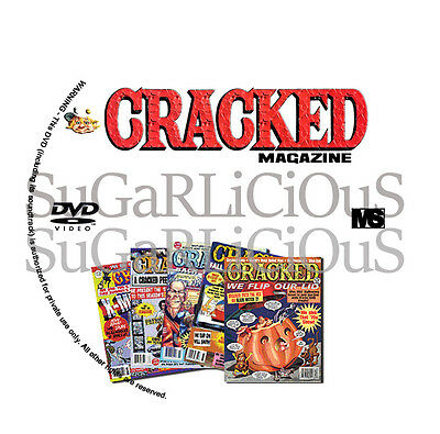Cracked comic magazine 157 pdf Issues on 2 dvds