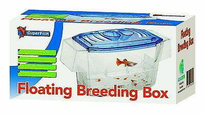 Floating or Secure Fish Breeding Box for Mother & Newborn Fry or Isolation Tank