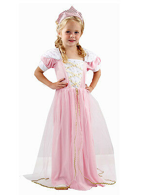 Age 2 3 4 Girls Toddler Fairytale Princess Costume Book Week Day Fancy Dress
