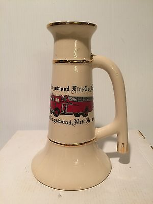 Vintage Collingswood New Jersey Fire Co.no.1 Beermug/stein