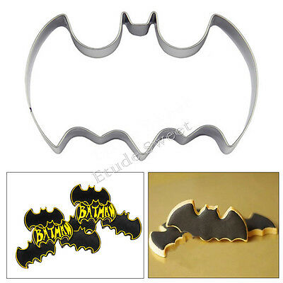 Stainless Steel Batman Biscuit Cookie Fondant Pastry Mold Cutter Cake Decorating