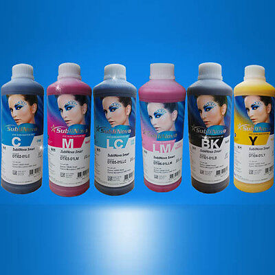 1 Litre Black InkTec SubliNova Smart Inkjet Ink sublimation all colours from UK