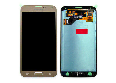 Original Samsung Galaxy S5 Neo G903F LCD Display Touchscreen Touch Glas Gold