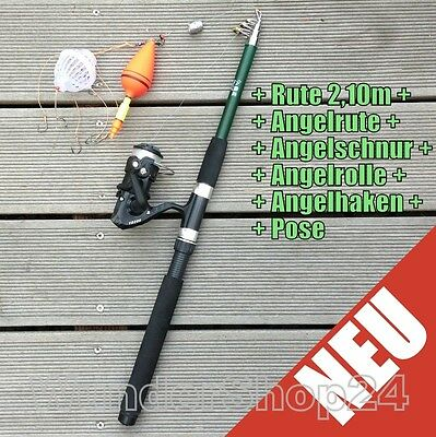 Fishing Set Rods Rolls Line Chipping Pose Angel Accessories Complete Set