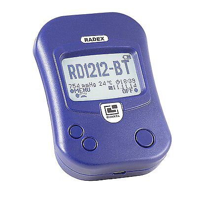 RADEX RD1212-BT Advanced Radiation Detector / Geiger Counter w / Bluetooth
