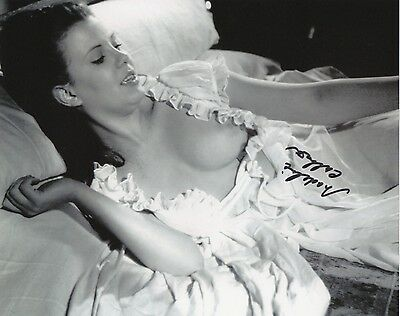 MADELINE COLLINSON Signed 10x8 Photo HAMMER HORROR TWINS OF EVIL COA