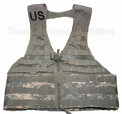 US Army MOLLE II FLC Fighting Load Carrier Vest ACU Digital Tactical LBV EXC