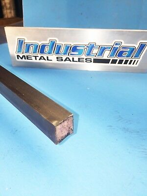 """3/4"""" x 24""""-Long 4130 Steel Square Bar- .750"""" 4130  MIL-S-6758--  Made in USA"""
