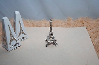 Eiffel Tower Metal small scale miniature figure PARIS 12 pcs