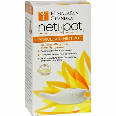 Himalayan Institute Neti Wash Ceramic Neti Pot - 1 Pot X 6