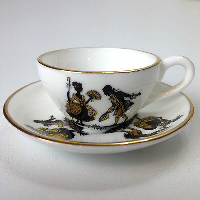 Vintage ROYAL ADDERLEY Miniature CUP & SAUCER Set