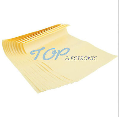 Electronic Components & Supplies Integrated Circuits Useful 10pcs A4 Toner Heat Transfer Paper Yellow For Diy Pcb Electronic Prototype Mark Top Quality