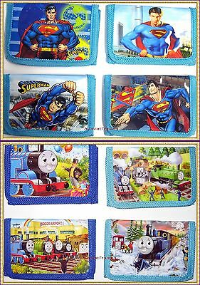 Brand new Superman Thomas The Tank Wallet boys tri-fold coin purse new release