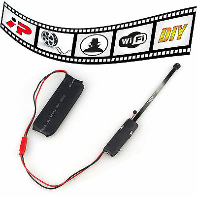 DIY Module Wifi IP Wireless Hidden Spy Network Security Camera For Android iOS