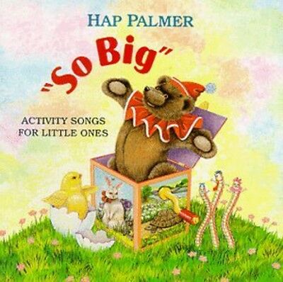 Hap Palmer - So Big - Activity Songs for Little Ones [New CD]