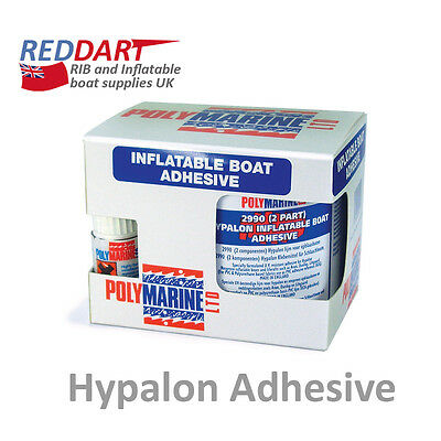 Hypalon Adhesive, 2 Part, 250ML, inflatable boat, dinghy, RIB repair kit glue