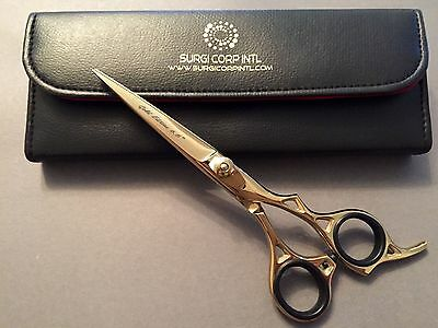"""Professional Hairdressing Scissors Barber Hair Cutting Gold Edition 6.5"""" Shear"""