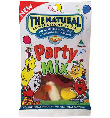 The Natural Confectionery Co. Party Mix 180g x 12