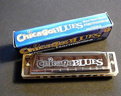 Chicago  Blues  Harmonica in the Keys of C or G