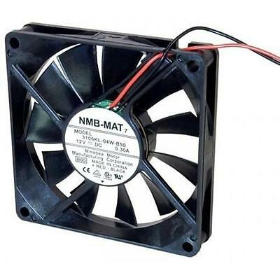 10) 12Vdc Fan, 80Mm Square X 15Mm