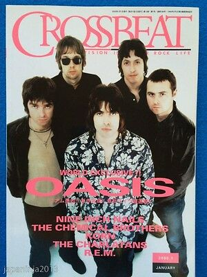 CROSSBEAT 1/2000 Japan Music Magazine Oasis Nine Inch Nails Chemical Brothers