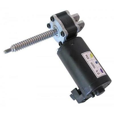 1) 12Vdc Right-Angle Gear Head Motor With Worm Drive