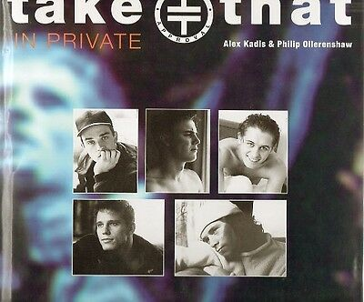 TAKE THAT In Private OFFICIAL Photo Annual