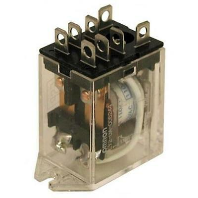 10) 120 Vac Relay, Dpdt 12 Amps